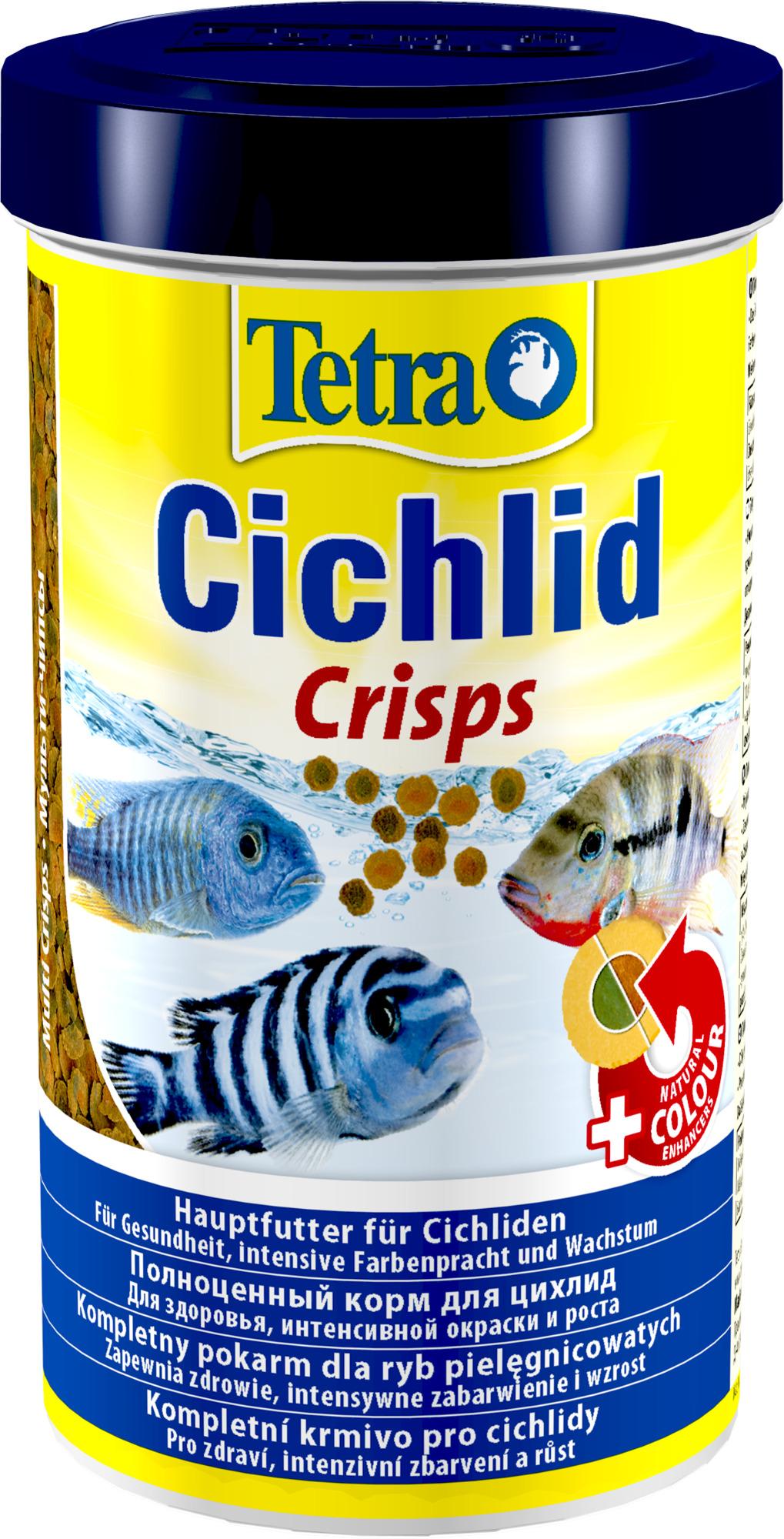 Tetra Cichlid Crisps корм чипсы для всех