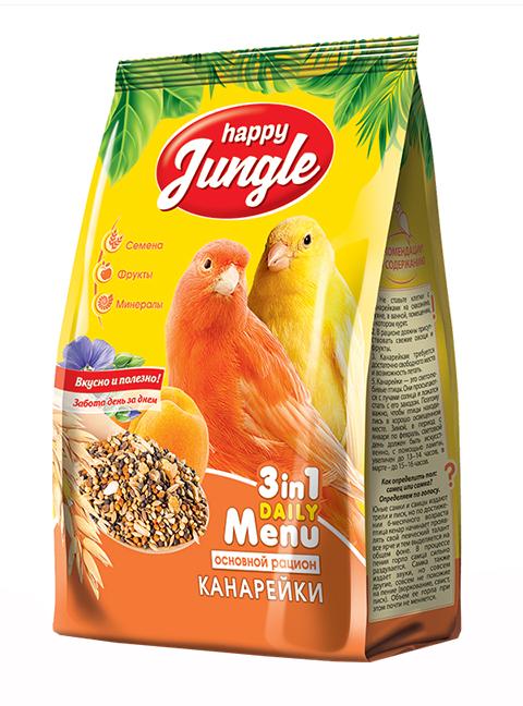 Happy Jungle для канареек (500 гр)