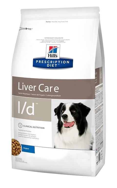Hill's Prescription Diet L/d для взрослых собак при заболеваниях печени (12 + 12 кг)