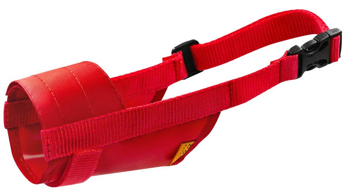 Намордник для собак нейлоновый регулируемый красный № 1 йорк, пудель, кокер-спаниель, шпиц Collar Dog Extreme (1 шт)