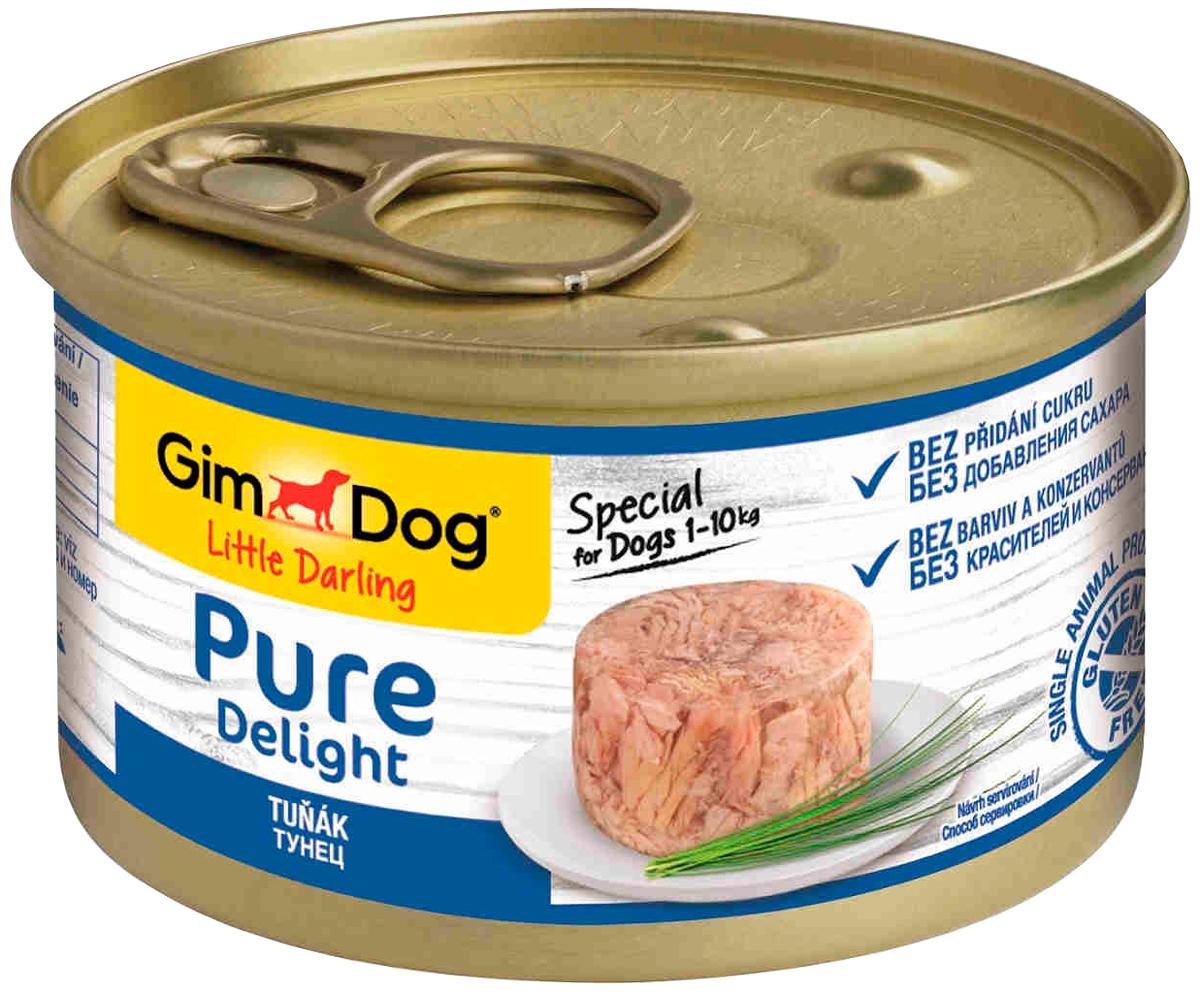 Gimdog Pure Delight для взрослых собак с тунцом в желе 85 гр (85 гр)