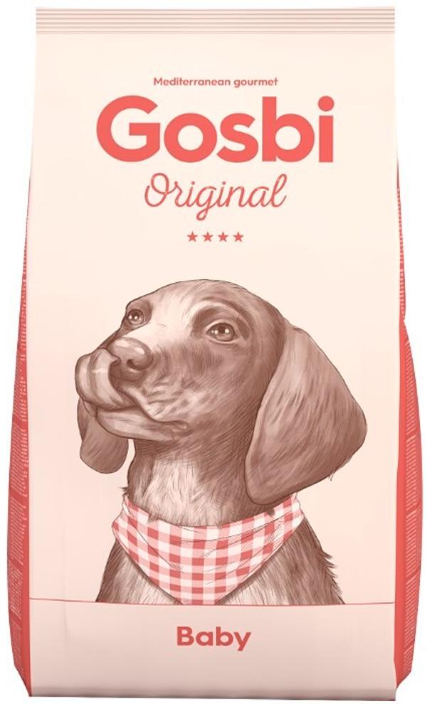 Gosbi Original Dog Baby для щенков всех пород с курицей (12 кг)
