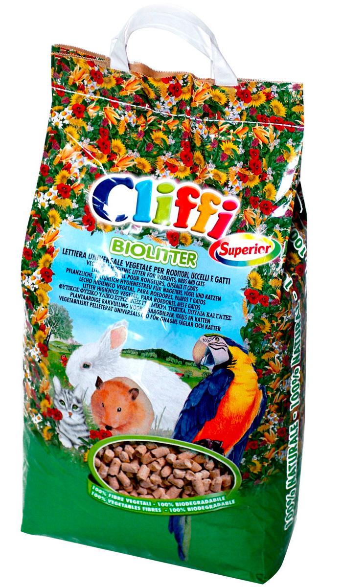 Cliffi Biolitter био наполнитель для кошек, грызунов и птиц (6 + 6 кг)
