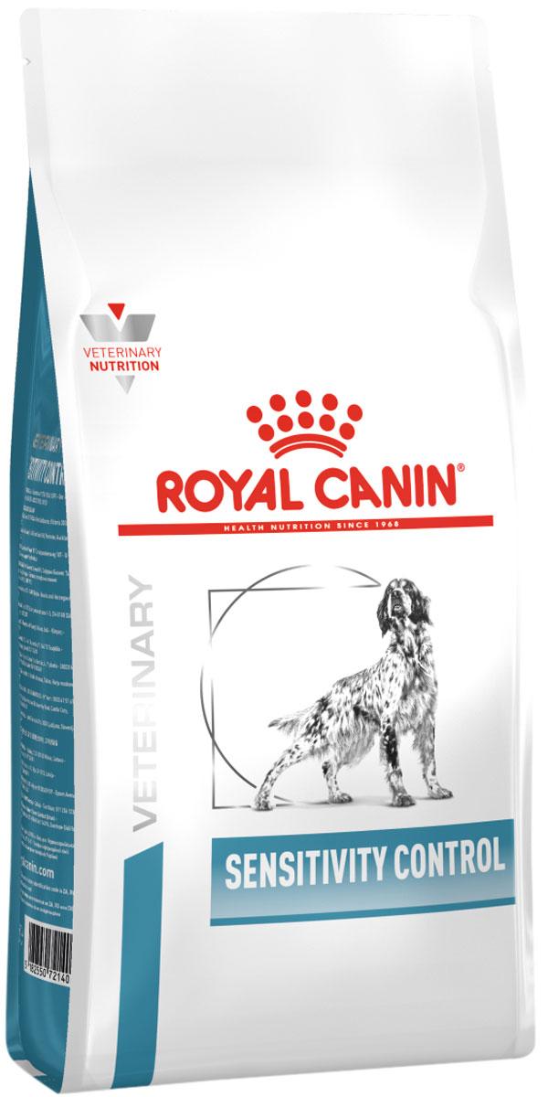 Royal Canin Sensitivity Control для взрослых собак при пищевой непереносимости (14 кг)
