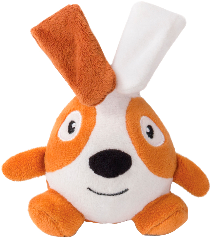 Игрушка для собак Triol Кролик ушастик полиэстер хлопок 15 см (1 шт)