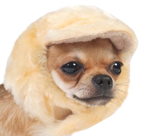 Тузик шапка для собак меховая с флисом