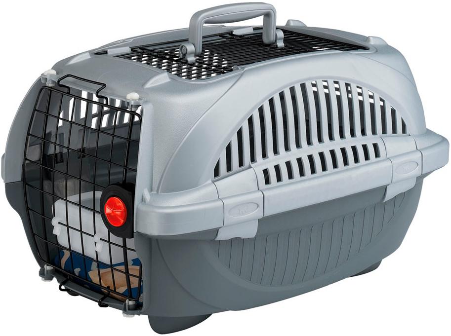 Переноска открытая Ferplast Atlas Deluxe 20 Open для мелких собак и кошек 57.6х37.4х33 см (1 шт) переноска ferplast atlas 20 el для мелких собак и кошек 58х37х32 см бюджет 1 шт