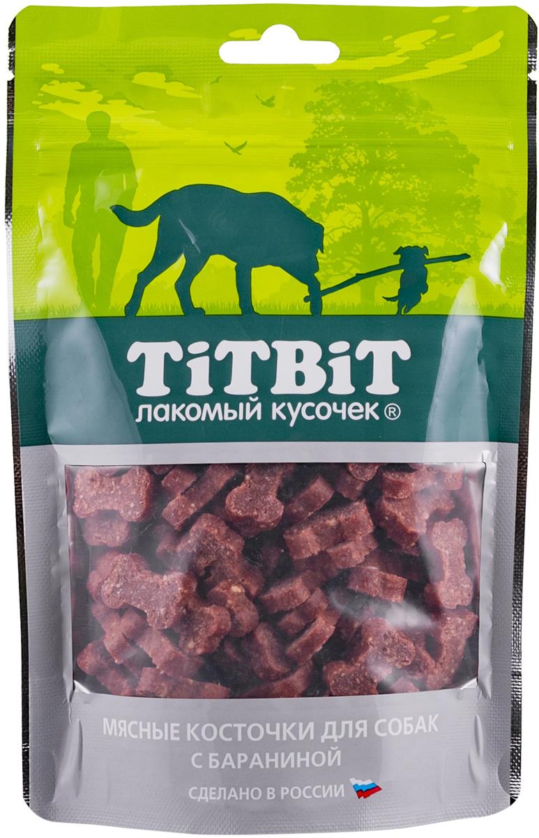 Лакомство Tit Bit для собак косточки мясные с бараниной (145 гр)