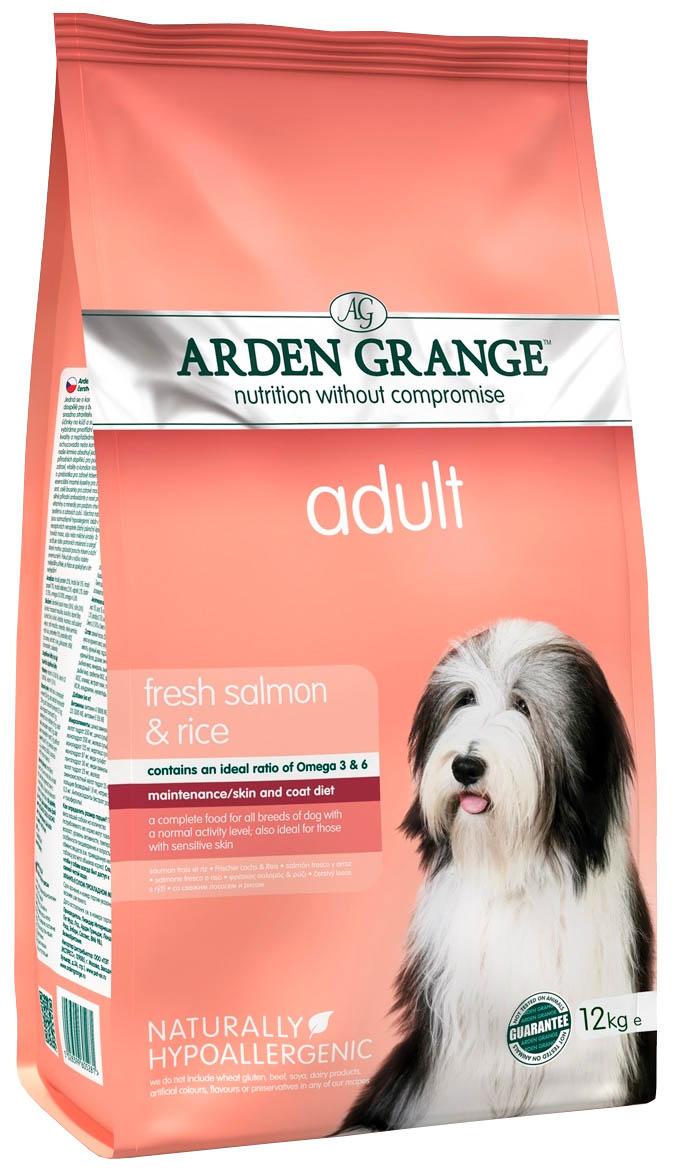 Arden Grange Adult Salmon & Rice для взрослых собак всех пород с лососем и рисом (2 кг) фото