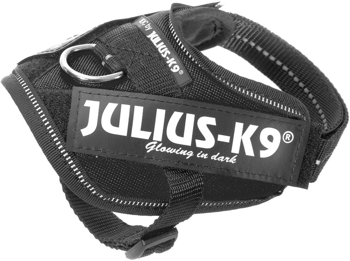 Шлейка для собак Julius-K9 Idc Powerharness 4 черный 70 - 90 кг 96 – 138 см (1 шт) фото