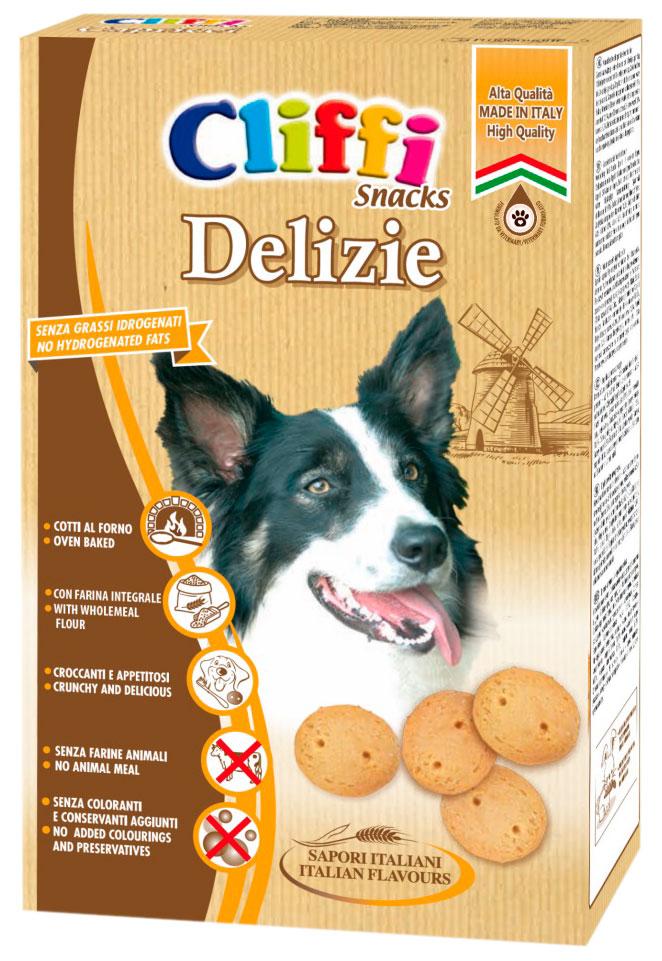 Лакомство Cliffi Delizie Воздушные шарики для взрослых собак всех пород 400 гр (1 шт)