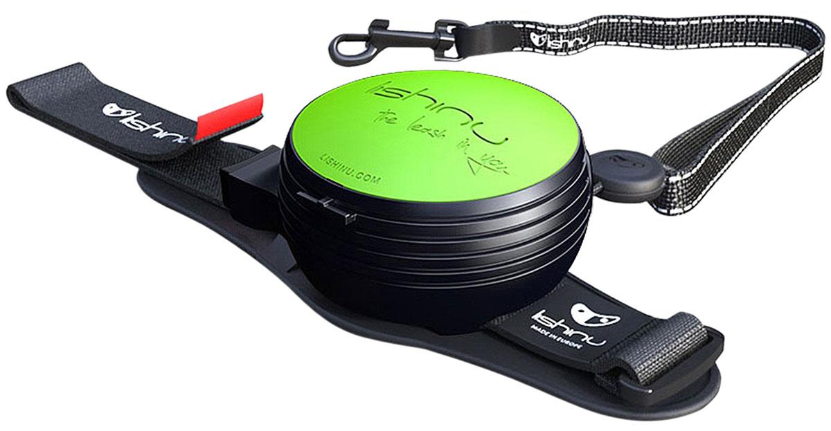 Lishinu Original 2 тросовый поводок рулетка для животных 3 м размер Xs зеленый (1 шт)