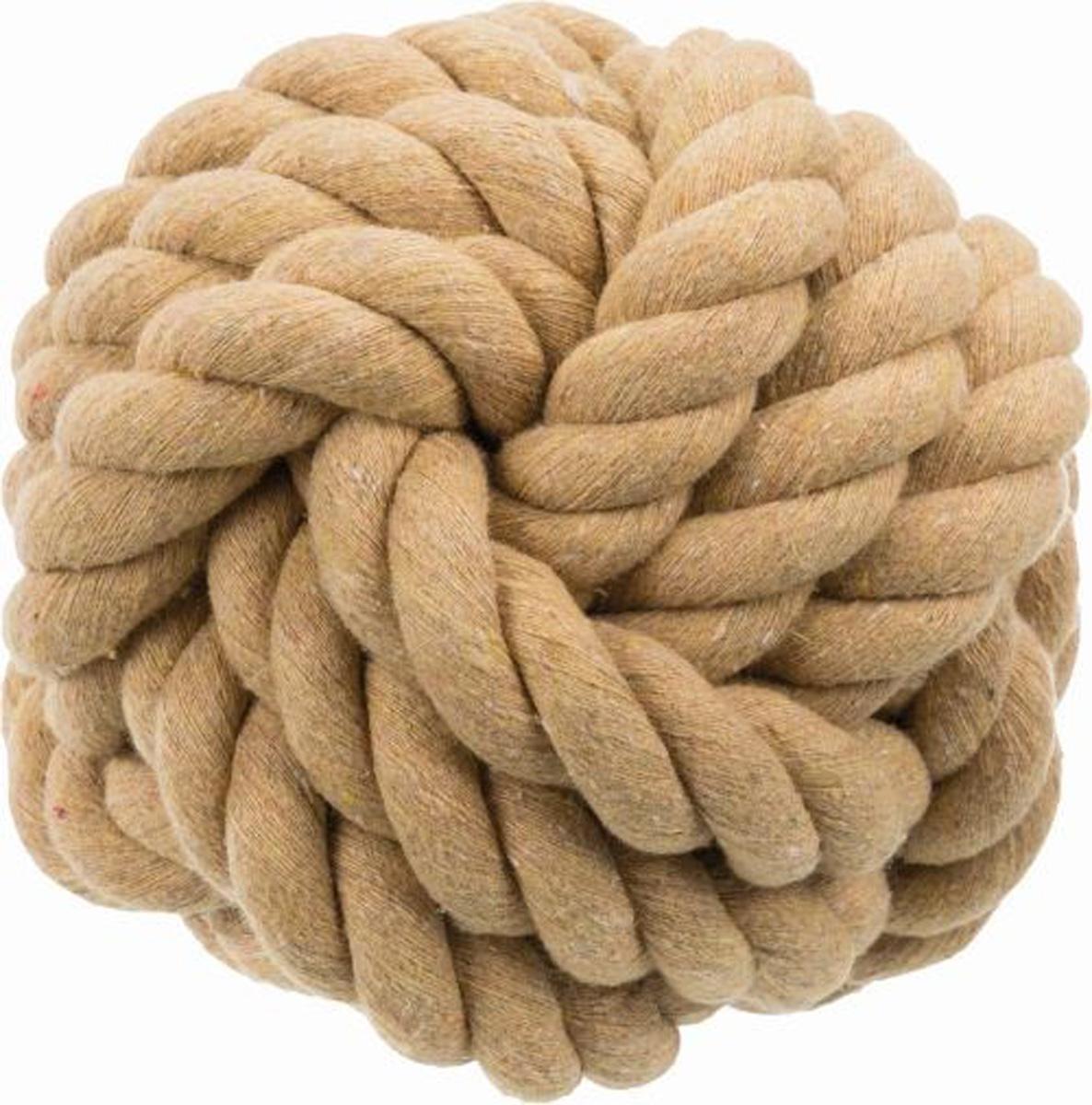 Игрушка для собак Trixie Be Nordic Верёвочный мяч 13 см (1 шт)