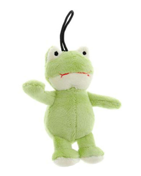 Игрушка для собак Лягушка с пищалкой без набивки 10 см GiGwi (1 шт)