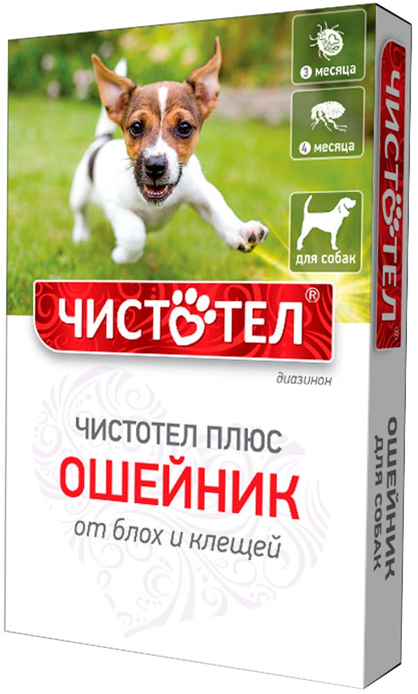 чистотел плюс ошейник для собак против блох и клещей 65 см (1 шт)
