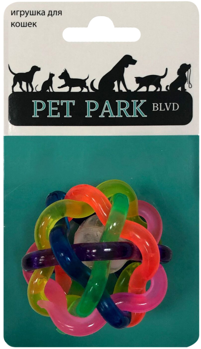 Игрушка для кошек Aromadog Petpark мячик светящийся (1 шт)