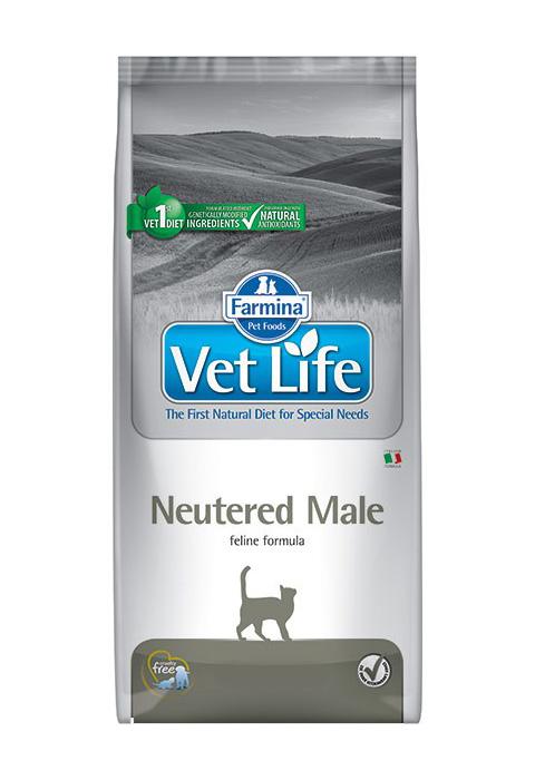 Farmina Vet Life Feline Neutered Male для взрослых кастрированных котов (0,4 кг)