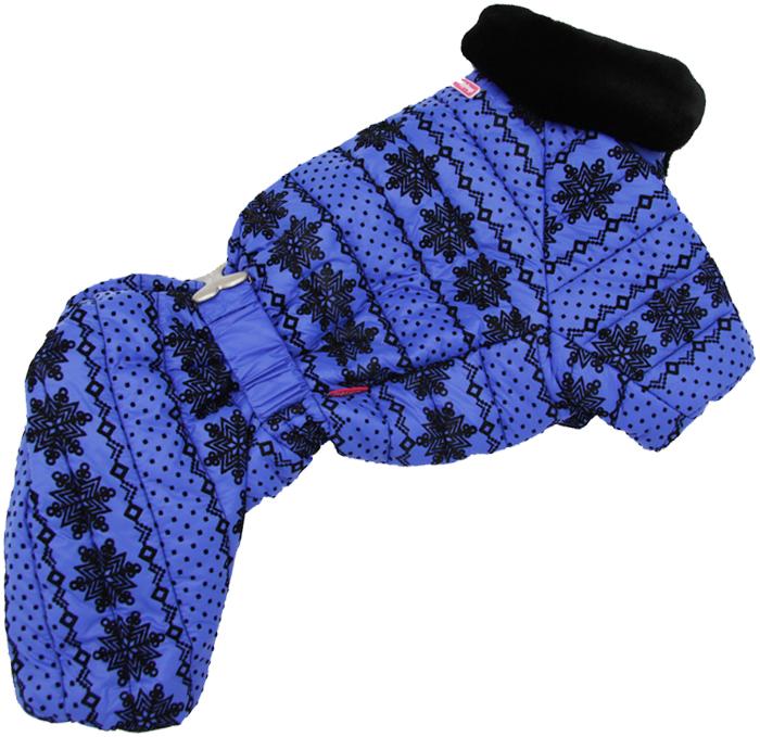 For My Dogs комбинезон для собак синий для мальчиков Fw637-2018 M (10)