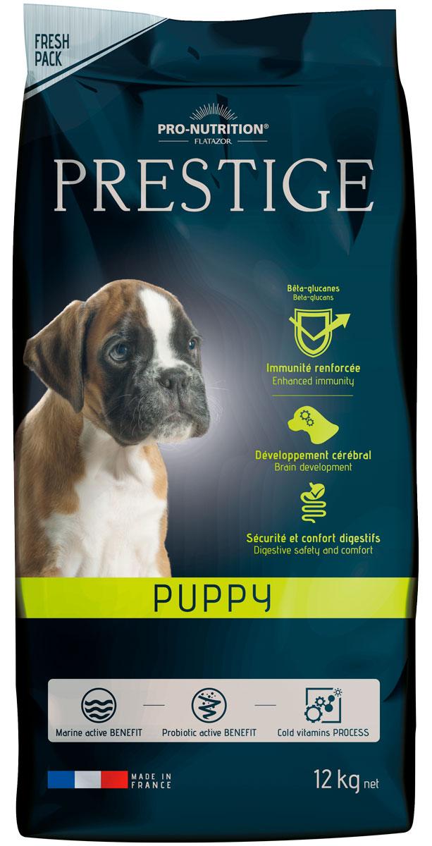 Flatazor Prestige Puppy для щенков всех пород, беременных и кормящих сук (12 кг) дерматоз беременных