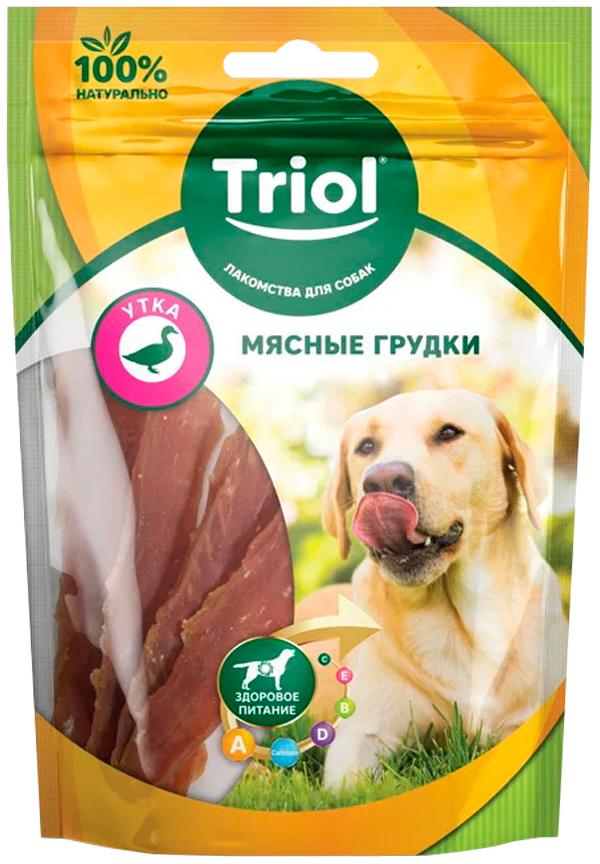 Лакомство Triol для собак мясные грудки с уткой (70 гр)