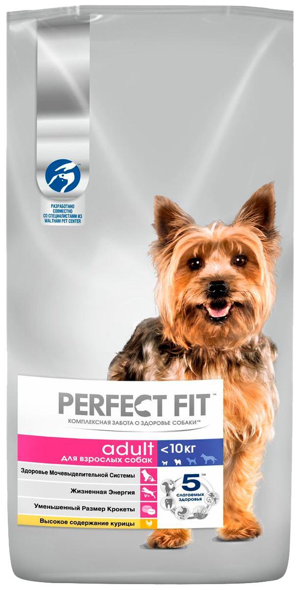 Perfect Fit Adult для взрослых собак маленьких пород с курицей (2,6 кг) фото