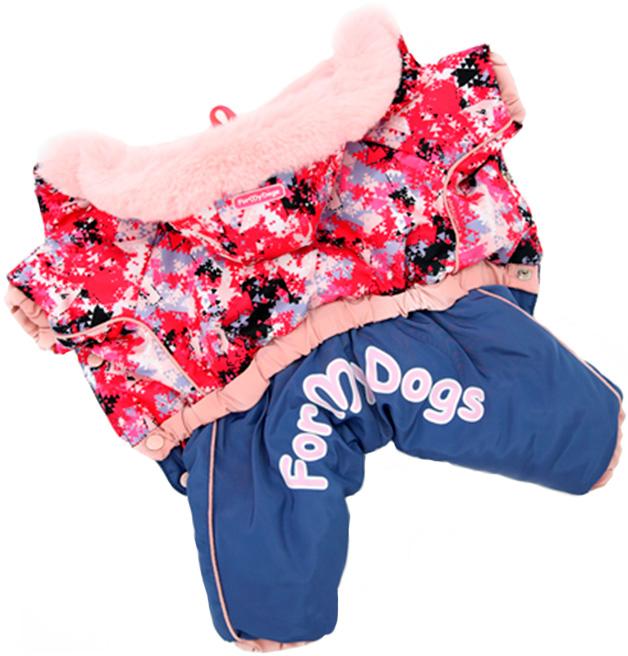 For My Dogs комбинезон для собак розовый для девочек Fw704-2019 F (20) фото