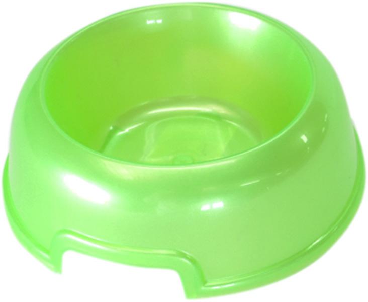 Миска для собак и кошек Homepet зеленый перламутр 02 л (1 шт).