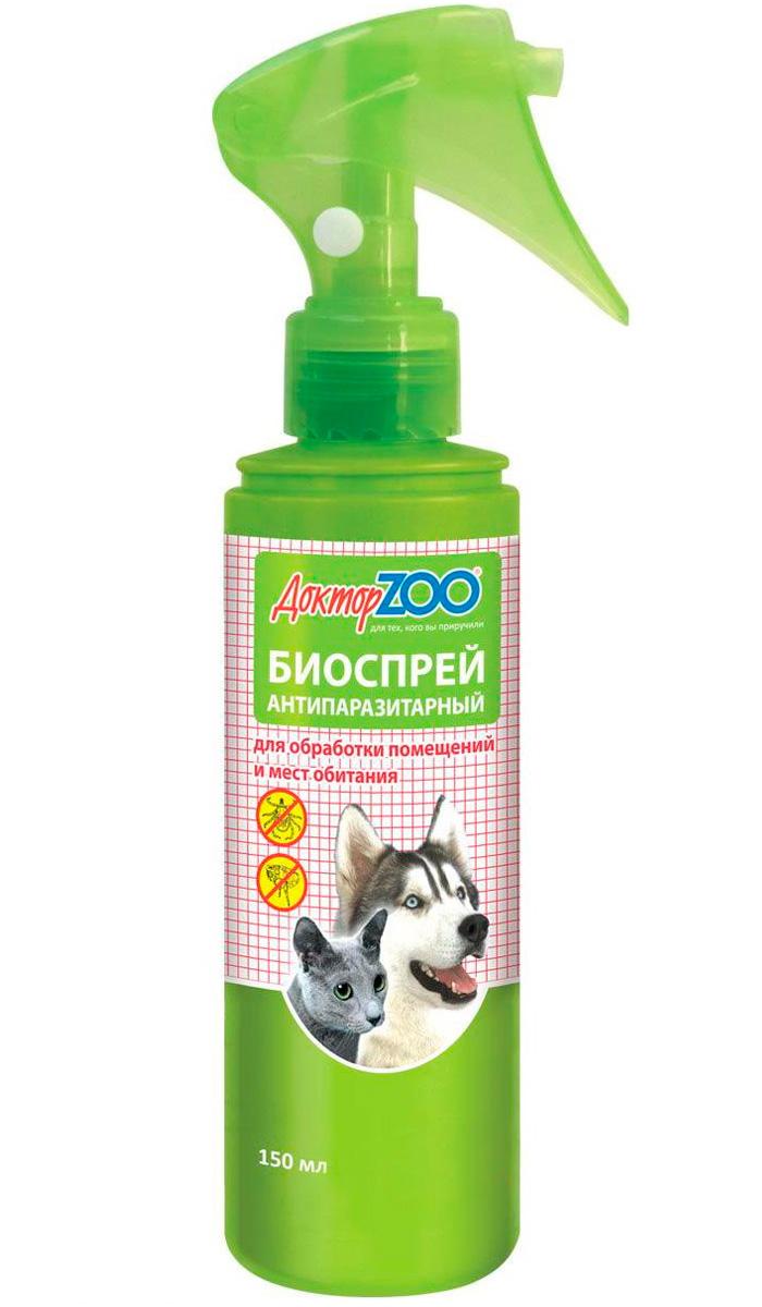 доктор Zoo биоспрей антипаразитарный обработка мест обитания 150 мл (1 шт)