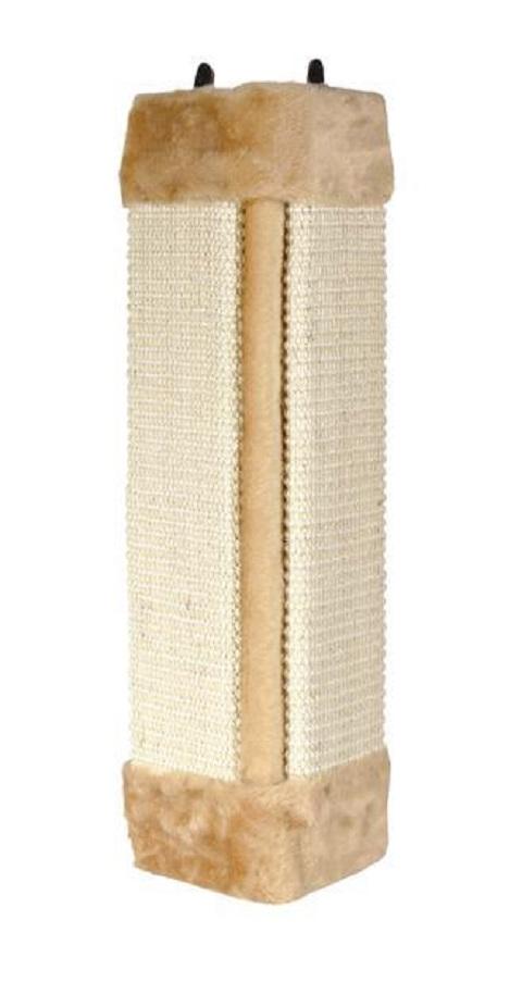 Trixie когтеточка «Доска», угловая (бежевая) когтеточка trixie угловая 49 х