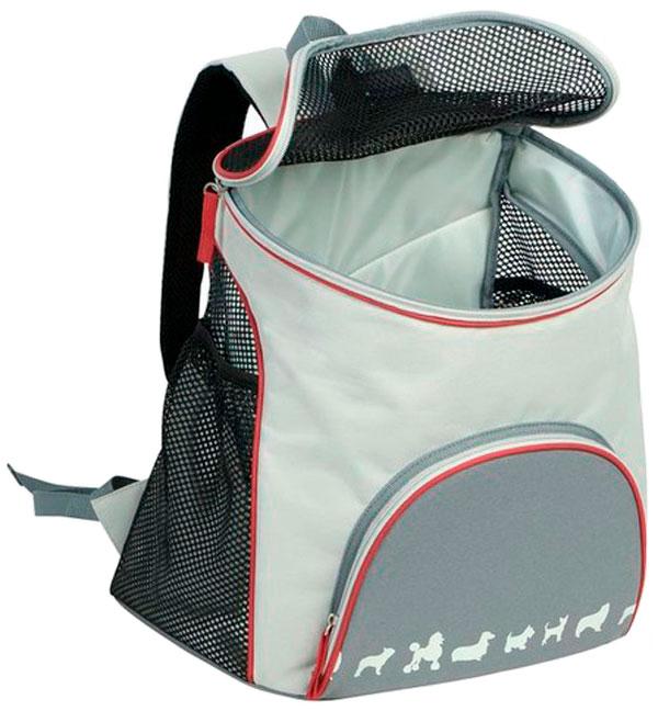 Рюкзак переноска Nobby Jambi серый 37 х 25 х 37 см (1 шт) фото