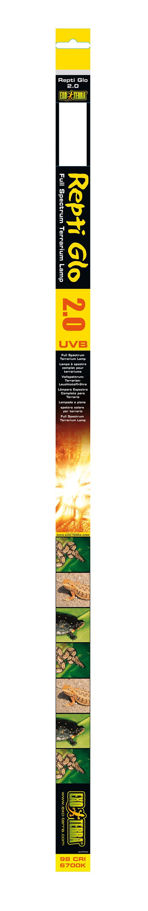 цена на Ультрафиолетовая лампа Exo Terra Natural Light (Repti Glo 2.0) т8 (15 Вт/45 см)