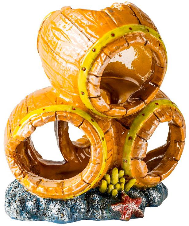 Декорация для аквариума Glofish Бочки S с Glo эффектом 7,9 x 8,9 x 7,9 см (1 шт) фото