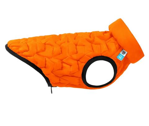 Куртка для собак Collar AiryVest Uni двусторонняя оранжево-черная (l55) куртка для собак collar airyvest uni двусторонняя голубо черная l55