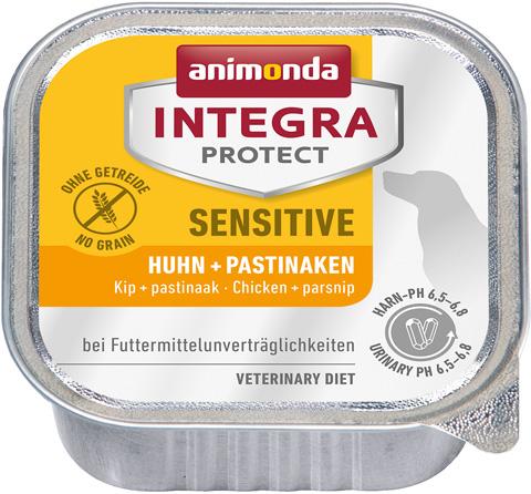 Animonda Integra Protect Dog Sensitive для взрослых собак при пищевой аллергии с курицей и пастернаком 150 гр (150 гр) фото