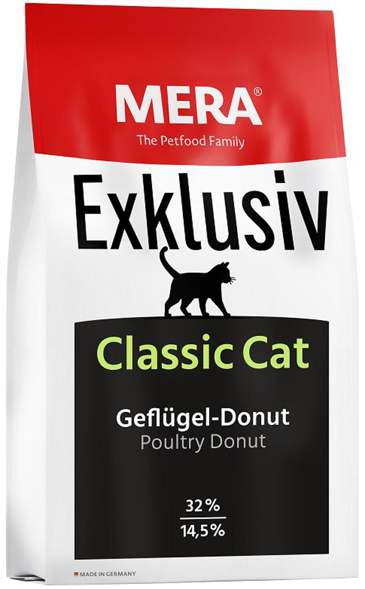 Mera Exklusiv Classic Cat Geflugel Donut для кошек и котят с птицей (10 кг)
