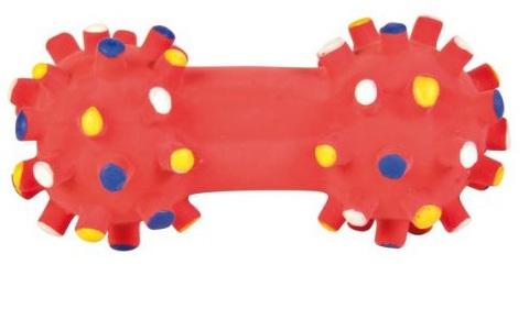 Trixie игрушка для собак «Гантель игольчатая» (10 см)