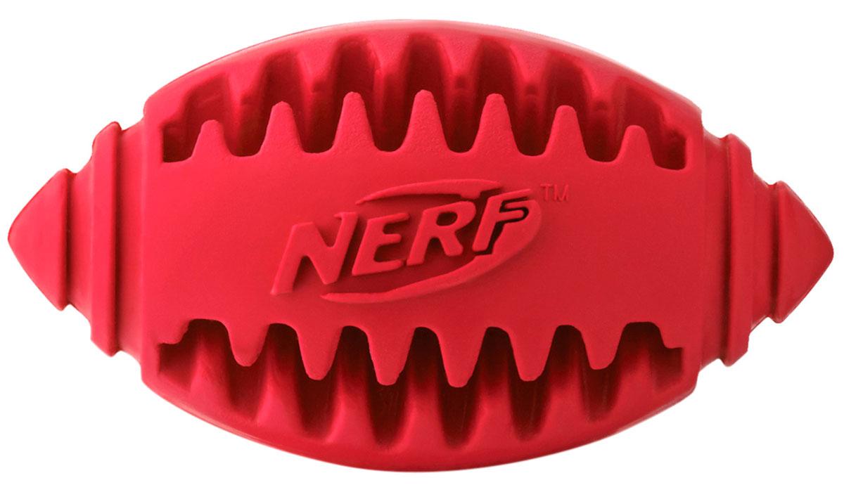 Игрушка для собак Nerf Мяч для регби рифленый 8 см (1 шт)