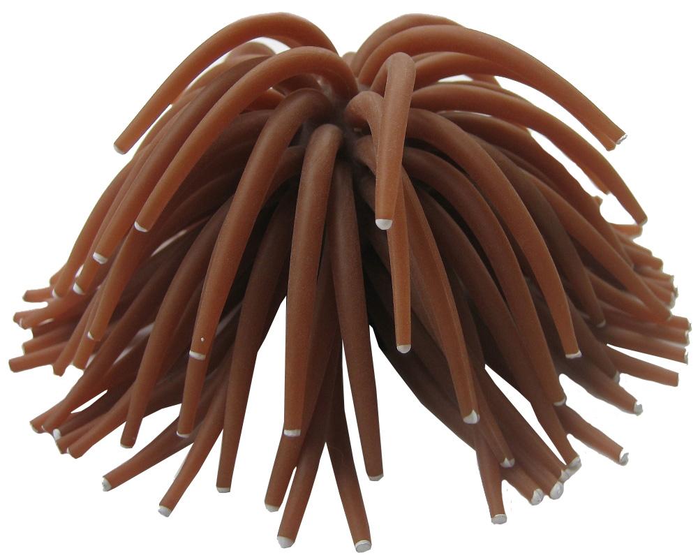 Декор для аквариума Коралл силиконовый Vitality на керамической основе бронза 13 х 13 х 10 см (1 шт)