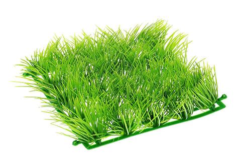 Растение-коврик для аквариума пластиковое зеленое 15 х 15 см Barbus Ps-317 (1 шт)