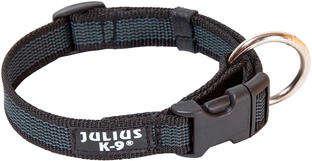 Ошейник для собак Julius-K9 Color & Gray черно-серый 20 мм 27 – 42 см (1 шт)