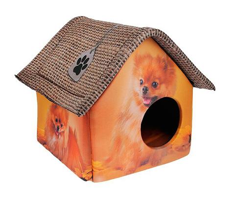 Дом для животных PerseiLine Дизайн Померанский шпиц 33 х 33 х 40 см (1 шт) дом для животных perseiline дизайн бамбук 33 х 33 х 40 см 1 шт