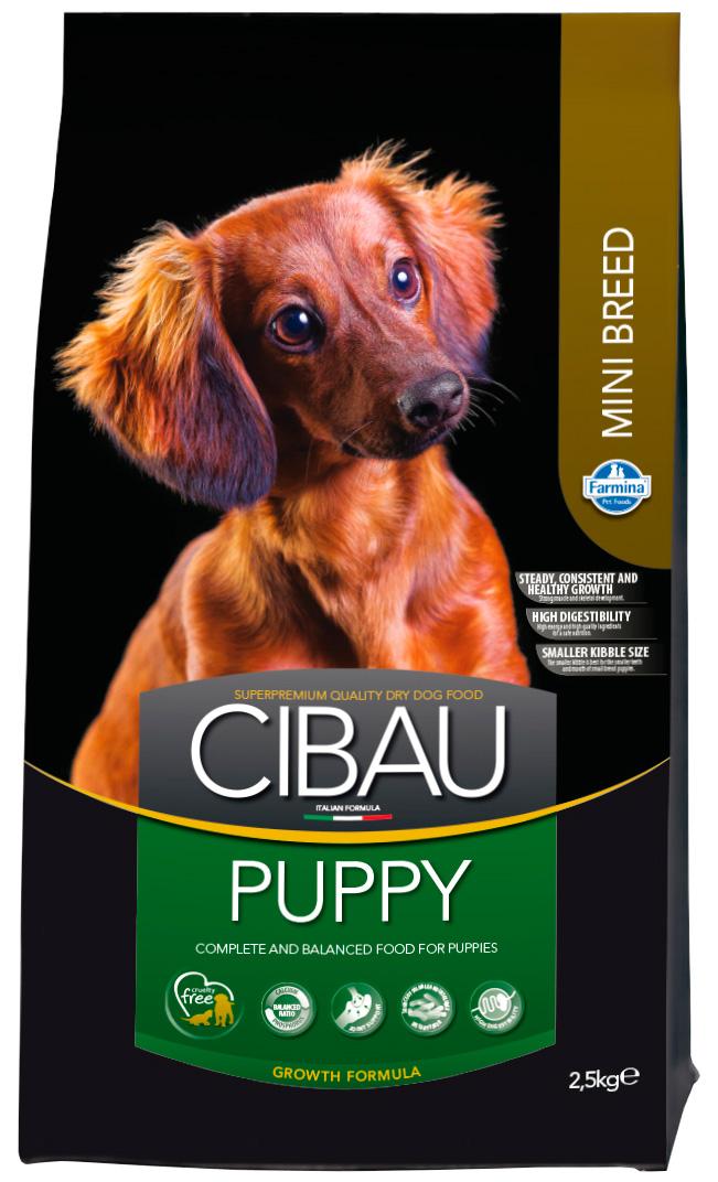 Cibau Puppy Mini для щенков маленьких пород с курицей (2,5 кг) фото