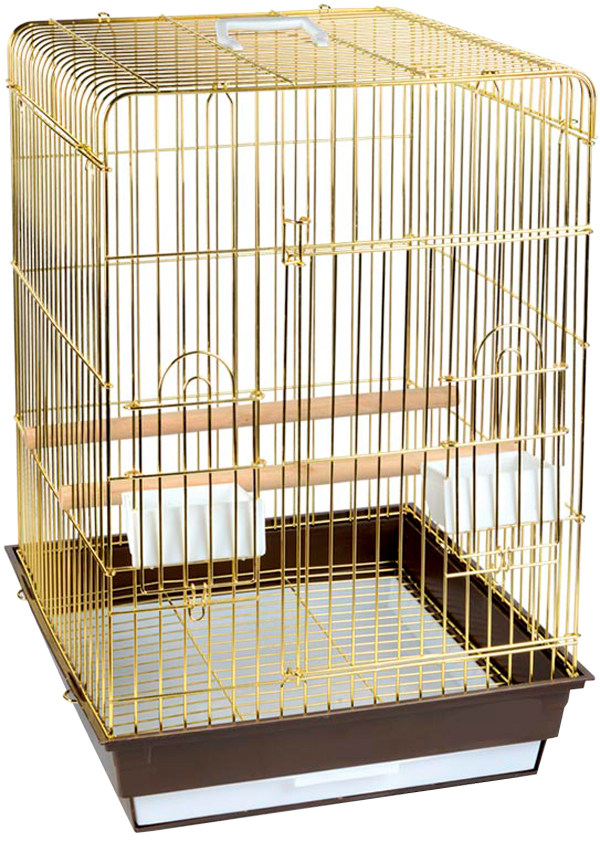Клетка для птиц Triol 1302g золото