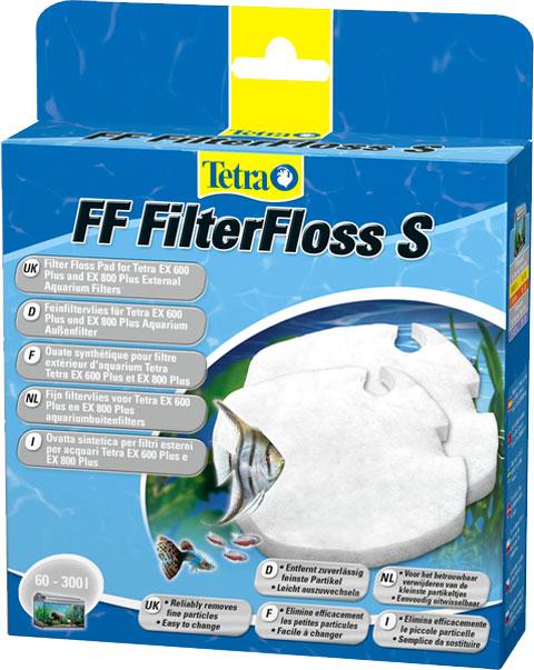 Наполнитель для фильтра Tetra Ff Filterfloss S 400/600/700/800 – губка мелкой очистки (уп. 2 шт) (1 шт)