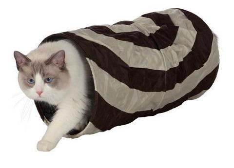 Trixie тоннель для кошек шуршащий, 50 см (1 шт) trixie тоннель trixie для кошек шуршащий 50 см ф25 см