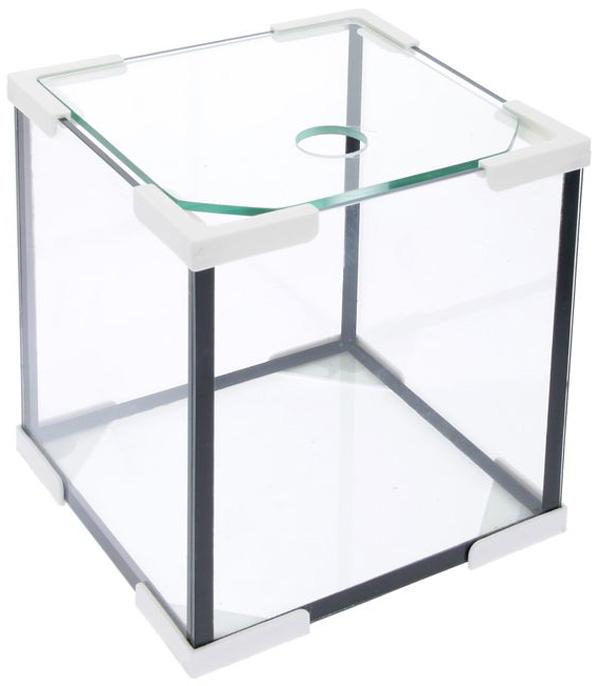 Аквариум Куб 30 литров белый (1 шт)