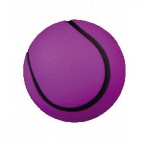 Trixie игрушка для собак «Мячик», ворсо-резиновый (6 см)