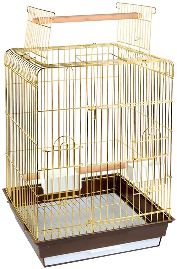 Клетка для птиц Triol 1038ag золото 47,5