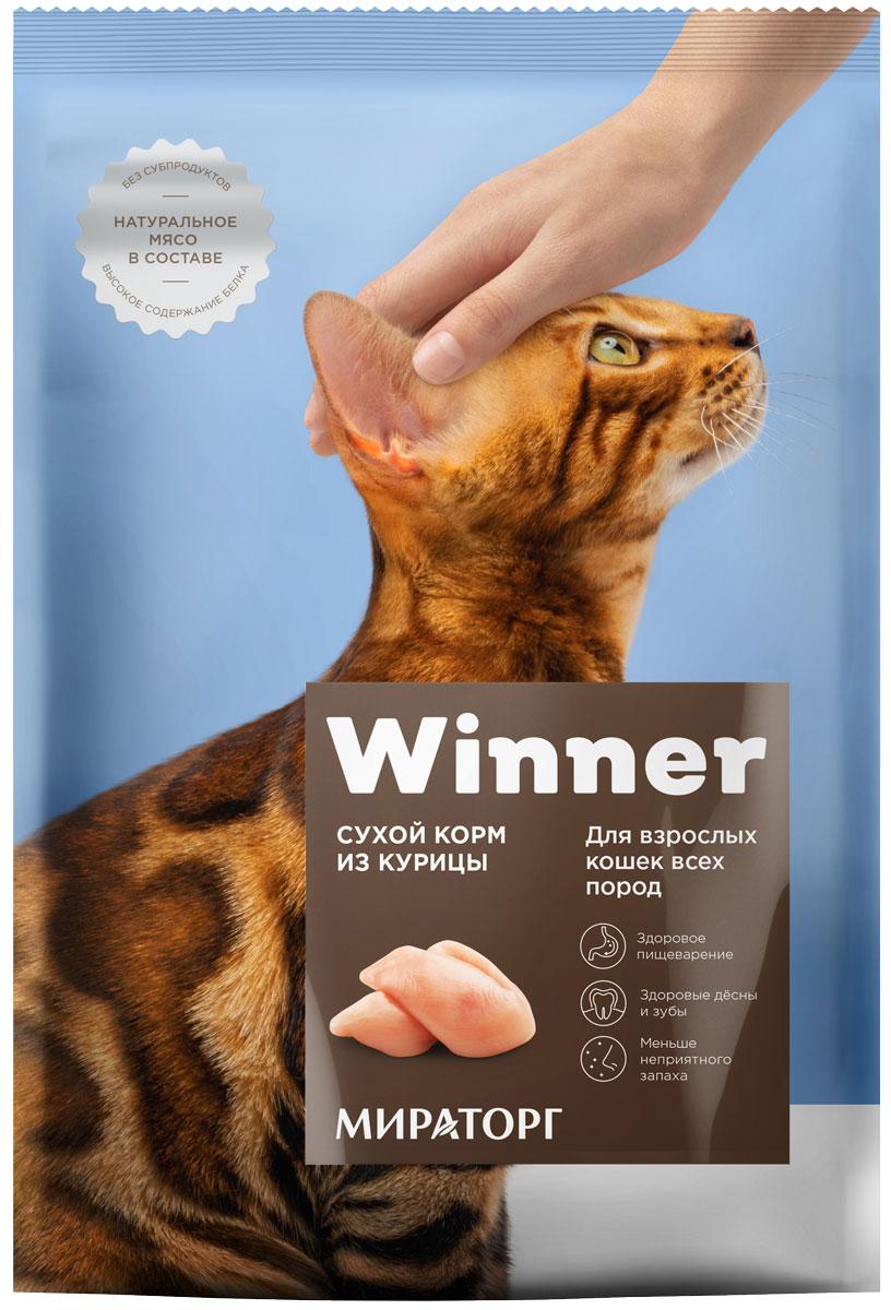 Winner для взрослых кошек с курицей (10 кг) фото