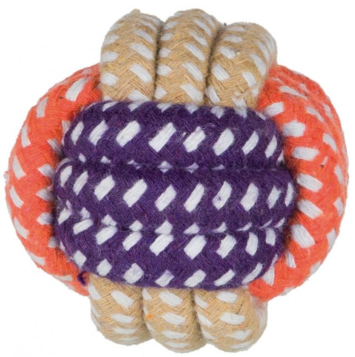 Игрушка для собак Trixie Веревочный шар 6 см (1 шт)